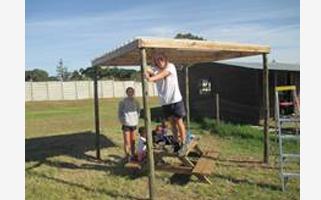 St Stephen's (Australia) School visit to JJH