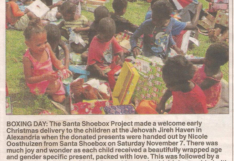 The Santa Shoebox Project